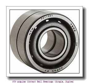 NTN 7034B DB Angular Contact Ball Bearings (Single, Duplex)