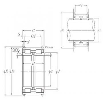 220 mm x 340 mm x 160 mm  NTN SL04-5044NR SL Type Cylindrical Roller Bearings for Sheaves
