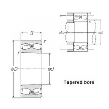 530 mm x 710 mm x 136 mm  NTN 239/530K Spherical Roller Bearings