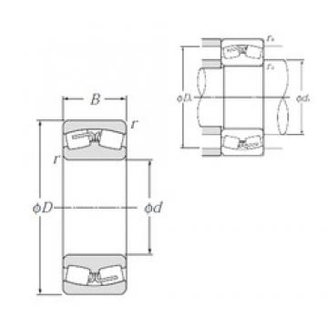 670 mm x 980 mm x 308 mm  NTN 240/670B Spherical Roller Bearings