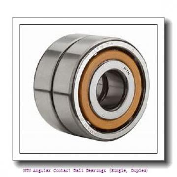 NTN 7026B DB Angular Contact Ball Bearings (Single, Duplex)