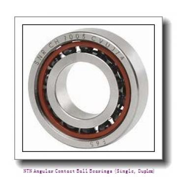 NTN 7960 DB Angular Contact Ball Bearings (Single, Duplex)