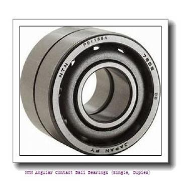 NTN 7024 DB Angular Contact Ball Bearings (Single, Duplex)