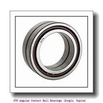 NTN 7030B DB Angular Contact Ball Bearings (Single, Duplex)