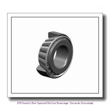 NTN T-HM237545/HM237510D+A Double Row Tapered Roller Bearings (Outside Direction)