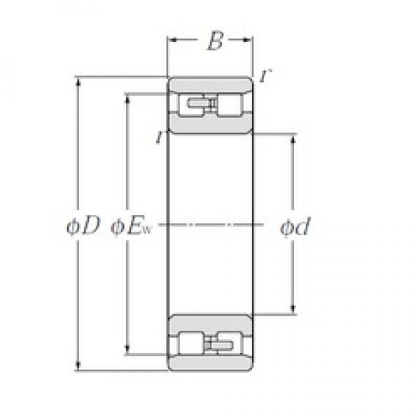110 mm x 170 mm x 45 mm  NTN NN3022 Multi-Row Cylindrical Roller Bearings #2 image