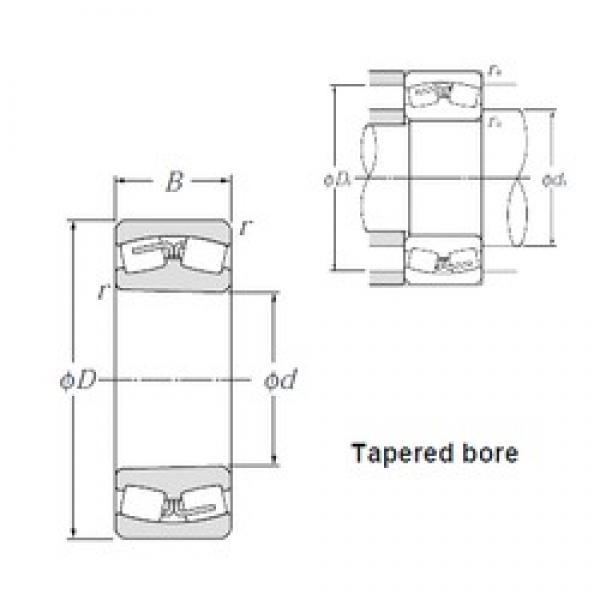 750 mm x 1 000 mm x 185 mm  NTN 239/750K Spherical Roller Bearings #2 image