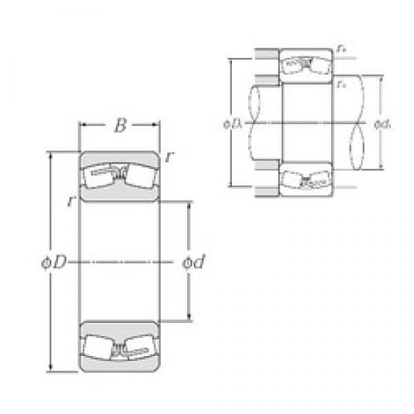1400 mm x 1 820 mm x 315 mm  NTN 239/1400 Spherical Roller Bearings #2 image